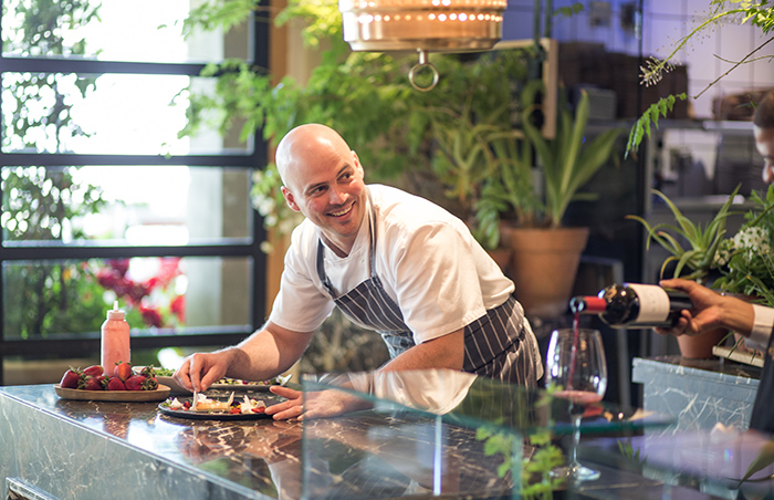 Head Chef of Delaire Graff Restaurant - Michael Deg