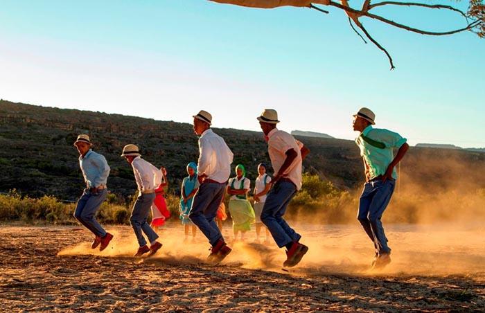 Die Nuwe Graskoue Trappers at Bushmans Kloof