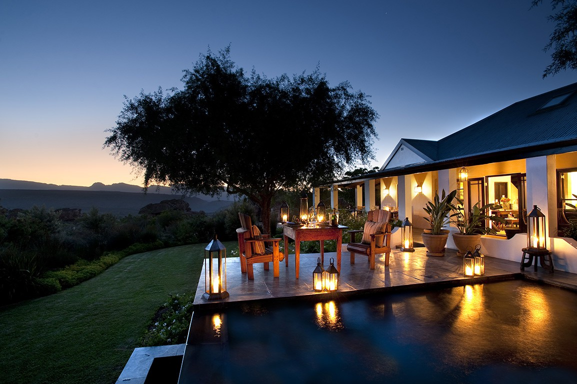Bushmans Kloof Dining